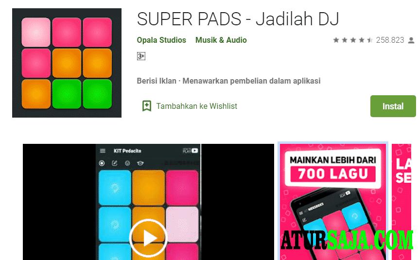rekomendasi aplikasi pembuat dj terbaik superpads