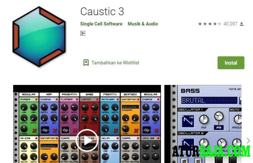aplikasi pembuat dj caustic 3