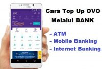 cara top up ovo via m banking bca