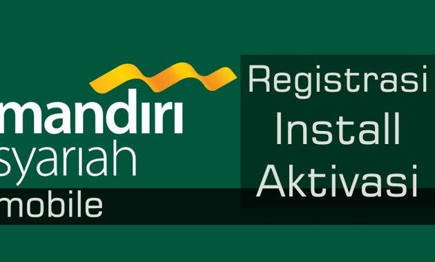 cara daftar internet banking mandiri syariah secara online