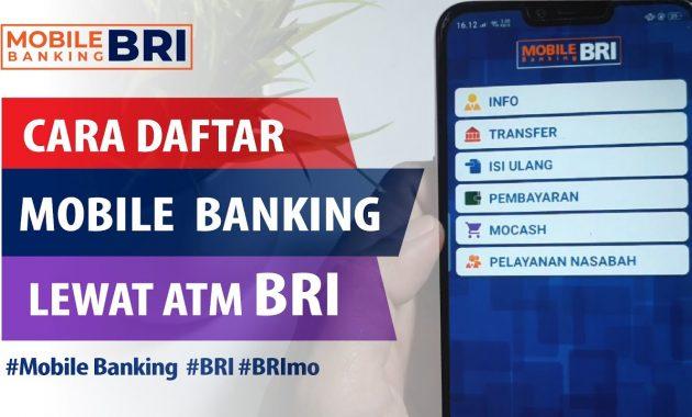 cara daftar mobile banking bri tanpa harus ke bank