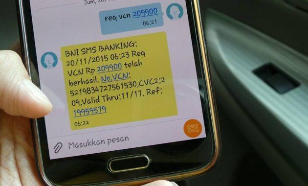 cara transfer saldo dari bri ke bni lewat sms banking