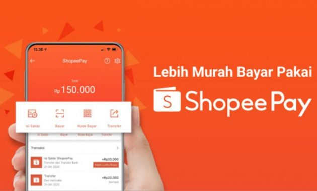 top up shopee pay