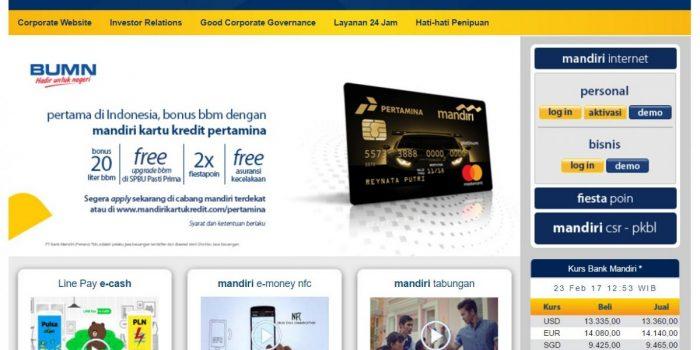 bagaimana cara mengaktifkan internet banking mandiri