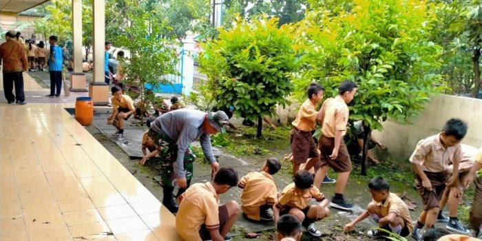 contoh kerjasama di lingkungan sekolah
