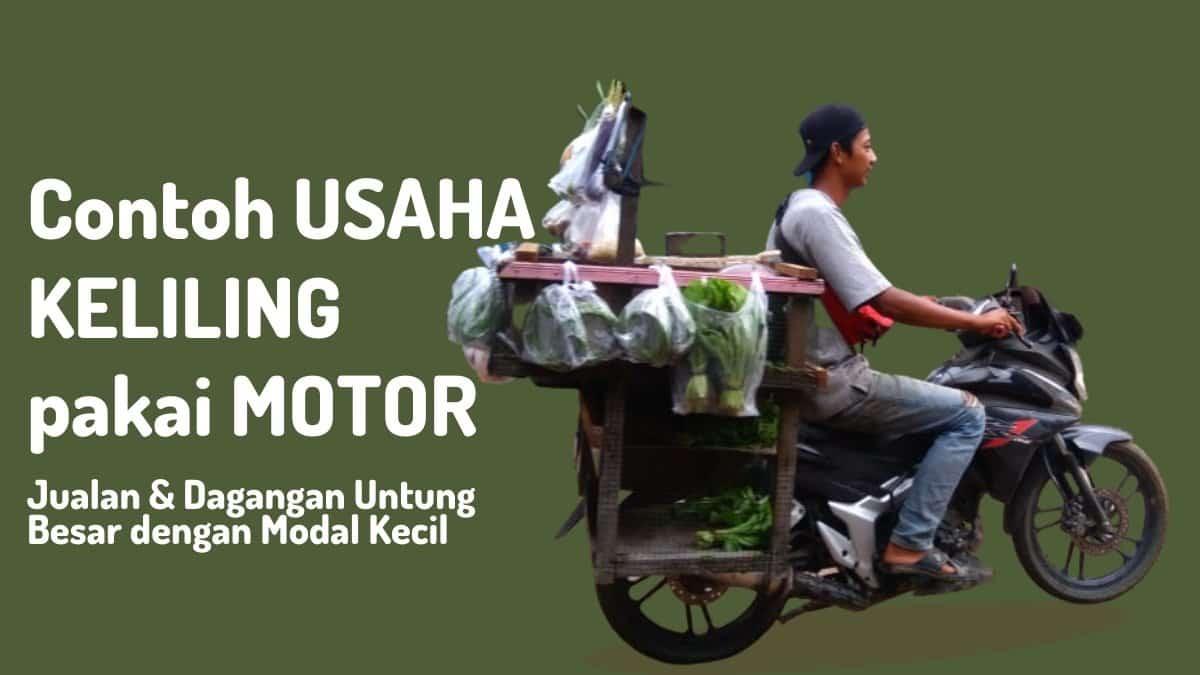 usaha keliling pakai motor