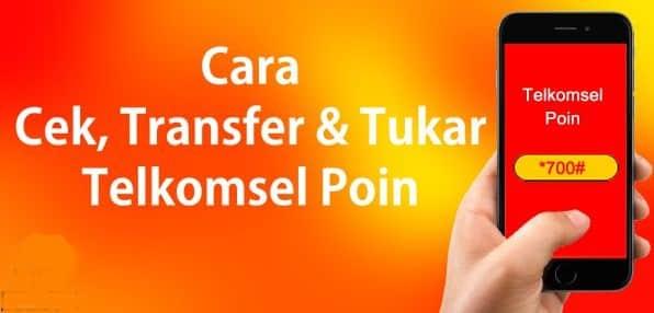 cara transfer point telkomsel