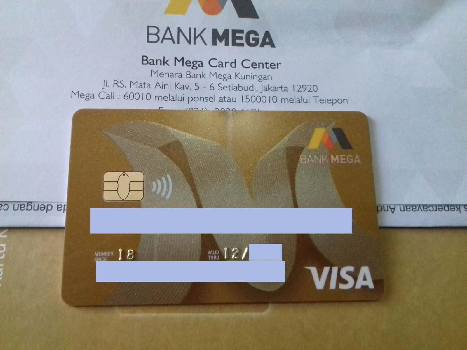 cara menutup kartu kredit bank Mega
